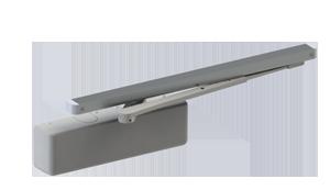 Hagar 5100-PAR-16-ALM-HDS Grade 1 Size 1-6 Aluminum Closer Arm Mount Stop Arm