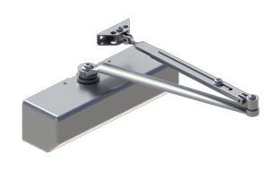 Hagar 5300-MLT-16-DBZ Grade 1 Dark Bronze Closer Multi Mount Adjustable 1-6 Barrier Free