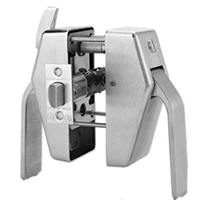 Glynn Johnson PL7-US32D-2 Privacy Push Latch 2-3/4 BS Satin Stainless Steel
