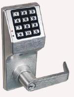 DL4175IC US26D Trilogy Keypad W/Privacy Function Regal Lever SFIC Prep Weatherproof Satin Chrome. So