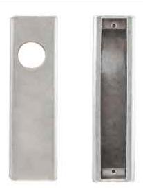 "K-BXA/R Lock Box For Adams Rite 1850S, 1851S, 4511, 4710 & 4711, 1 1/8"" B/S 2 1/16 w x 8H x 1 13/16"