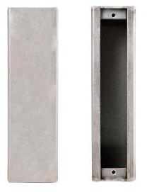 K-BXA/R-NH Lock Box For Adams Rite 1850S, 1851S No Cylinder Holes