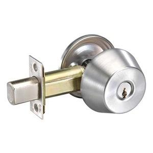 Yale D211 605 Deadbolt x Single Cylinder Included x 2-3/8 BS x E1R-KD Kwy Bright Brass